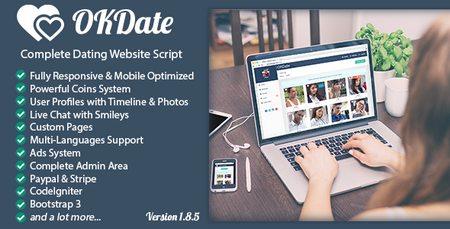 اسکریپت جامعه دوستیابی OKDate نسخه 1.8