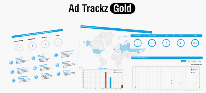 Ad Trackz Gold v6.9 demo