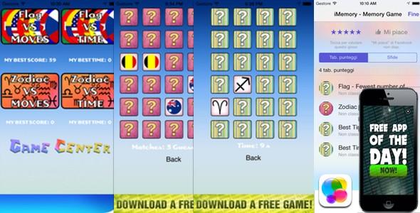 دانلود سورس ای او اس بازی حافظه Match App