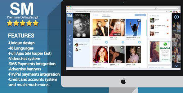 دانلود اسکریپت دوست یابی چت, صوتی, تصویری Social Match