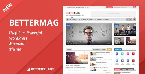 دانلود اسکریپت تبلیغات رایگان ایستگاهBetterMag v2.7.0