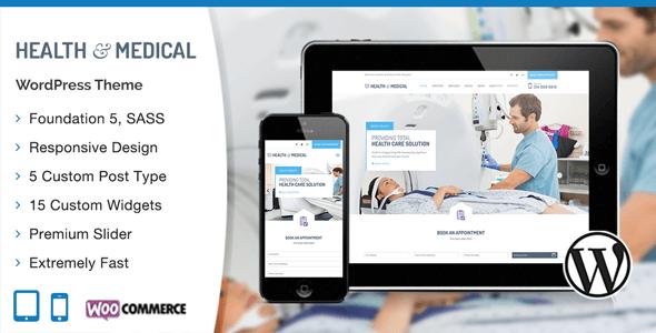 دانلود قالب پزشکی ریسپانسیو برای وردپرس Medical v1.0.4