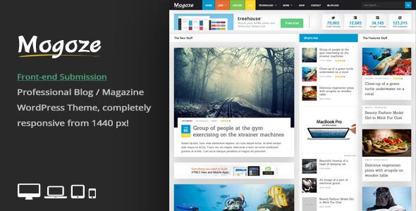 دانلود قالب مجله خبری برای وردپرس Mogoze v2.6