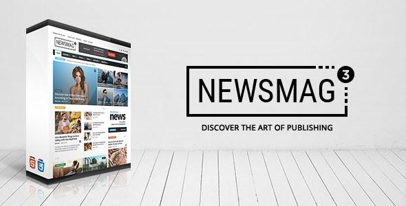 دانلود قالب خبری و مجله ای برای وردپرس Newsmag v3.2