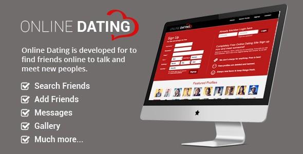 دانلود اسکریپت دوستیابی آنلاین Online Dating v2.0