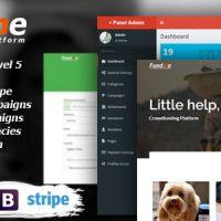 دانلود اسکریپت حمایت مالی و سرمایه گذاری Fundme v1.8