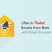 افزونه محافظت کردن ایمیل ها از اسپمر ها در وردپرس