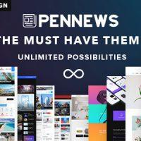پوسته مجله خبری PenNews وردپرس نسخه 6.3