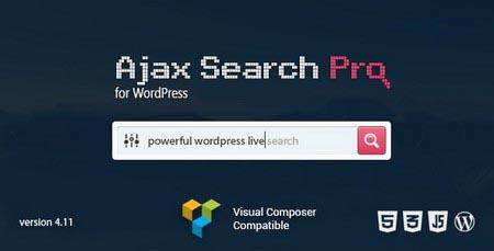 افزونه جستجوگر پیشرفته وردپرس Ajax Search Pro