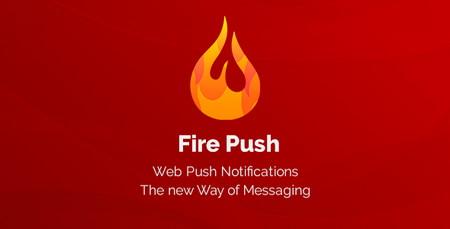 افزونه اطلاع رسانی Fire Push