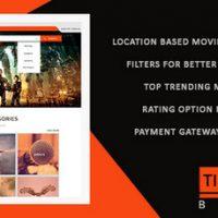 اسکریپت فروش آنلاین بلیط سینما Ticket Bazzar