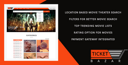 اسکریپت فروش آنلاین بلیط سینما