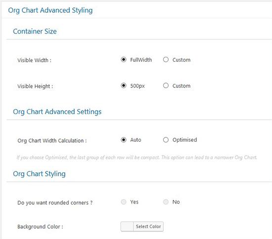 افزونه Easy Org Chart