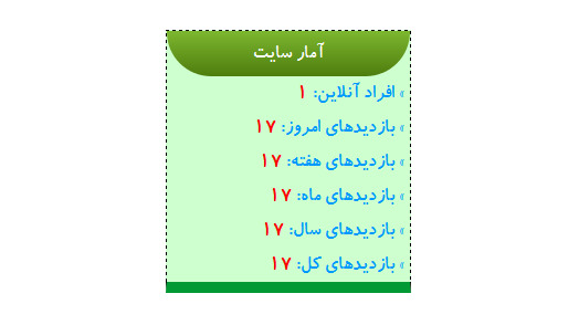 دانلود سورس آمارگیر سایت با زبان PHP
