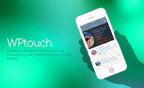 ساخت نسخه موبایل برای سایت وردپرسی با افزونه WPtouch Mobile Plugin