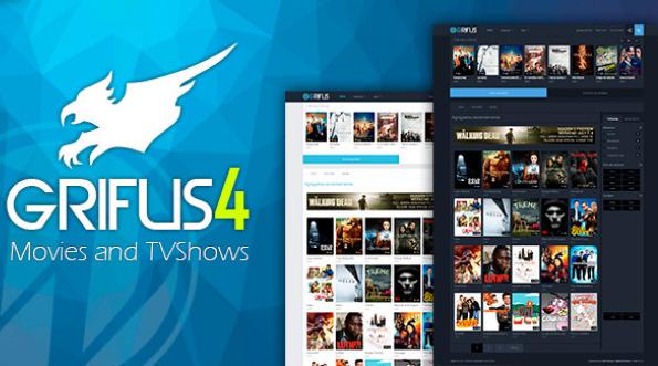 دانلود قالب فیلم و سریال برای وردپرس Grifus v3.0.1