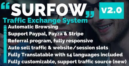 دانلود اسکریپت تبادل بازدید Surfow v2.1