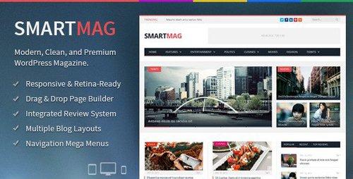 قالب مجله ای خبری وبلاگی فارسی برای وردپرس SmartMag v2.6.1