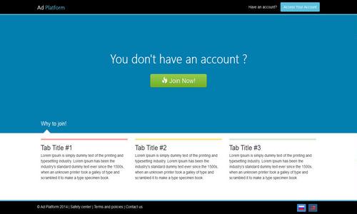 اسکریپت راه اندازی شبکه تبلیغات کلیکی Advertising Platform v1.5.3