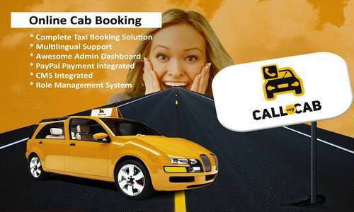 اسکریپت سیستم درخواست آنلاین تاکسی Call My Cab