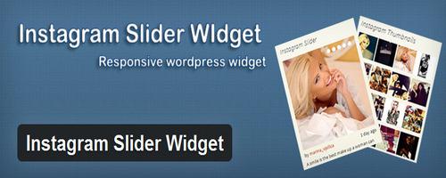 افزونه نمایش تصاویر اینستاگرام در وردپرس Instagram Slider Widget