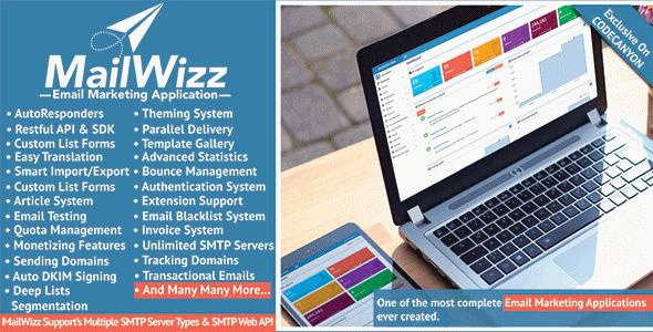 دانلود اسکریپت ارسال ایمیل انبوه تبلیغاتی MailWizz v1.3.5.8