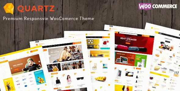 دانلود قالب فروشگاهی برای ووکامرس Ri Quartz v1.0