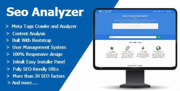 دانلود اسکریپت بررسی و آنالیز سئوی سایت Seo Analyzer v1.1