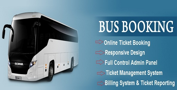 دانلود اسکریپت رزرو آنلاین بلیط اتوبوس eBus v1.0