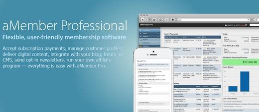 دانلود اسکریپت عضویت ویژه و ایجاد اکانت aMember Pro v5.1.3