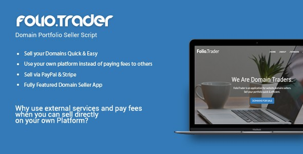 دانلود اسکریپت راه اندازی فروشگاه دامنه FolioTrader