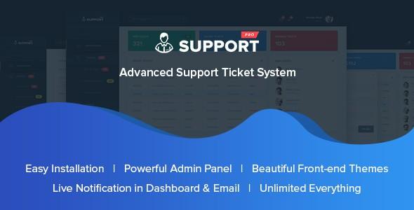 دانلود اسکریپت ارسال تیکت و پشتیبانی مشتریان SupportPro