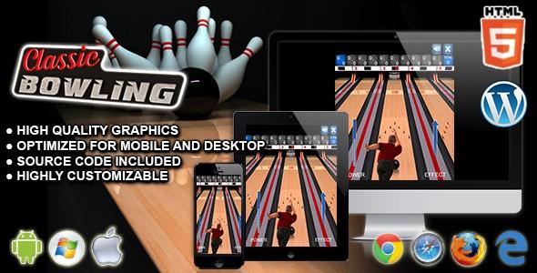 دانلود اسکریپت بازی آنلاین بولینگ Classic Bowling