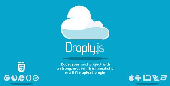 دانلود اسکریپت آپلودسنتر حرفه ای Droply.js v2.8
