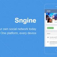 دانلود اسکریپت شبکه اجتماعی Sngine v2.3