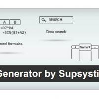 جدول های پیشرفته اطلاعات با Data Tables Generator by Supsystic