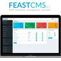 اسکریپت مدیریت محتوای FeastCMS