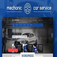 دانلود قالب خدمات خودرو Mechanic برای وردپرس