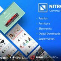 دانلود قالب فروشگاهی Nitro برای ووکامرس