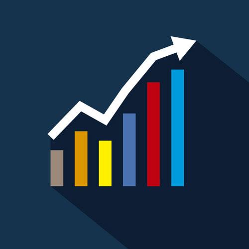نمودار تغییرات قیمت محصولات در ووکامرس