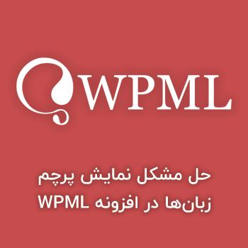 مشکل نمایش پرچم زبانها در افزونه WPML